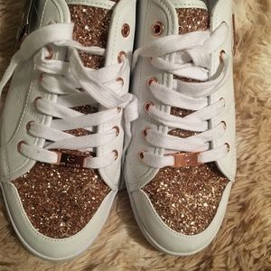 9344fbe792be G by Guess Shoes - G by Guess Mallory sparkle sneakers size 12